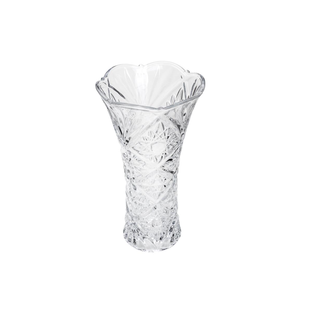 Vaso vidro sodo-calcico Petals 13x8x24cm Red Cherry