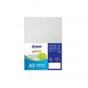 Cartão Cinza H - Medida A3 - Pacote 10un.