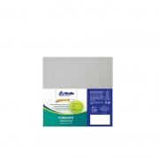 Cartão Cinza- Medida 30,5x30,5cm - Pacote 10un.