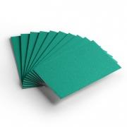 Cartão Color Face - Verde - Pacote 10un