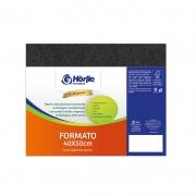 Cartão Preto H - Medida 40x50cm - Pacote 10un