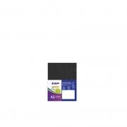 Cartão Preto H - Medida A5 - Pacote 10un