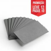 Leve 12 Pague 10 - Cartão Cinza - Pacote com 12un