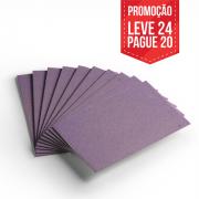 Leve 24 Pague 20 - Cartão Color Face Lilás -  Pacote com 24un