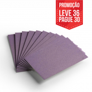 Leve 36 Pague 30 - Cartão Color Face Lilás -  Pacote com 36un