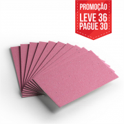 Leve 36 Pague 30 - Cartão Color Face Rosa -  Pacote com 36un