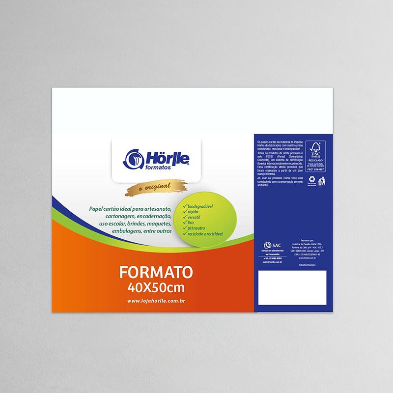 Cartão Capa Branca 40x50cm - Pacote 10un
