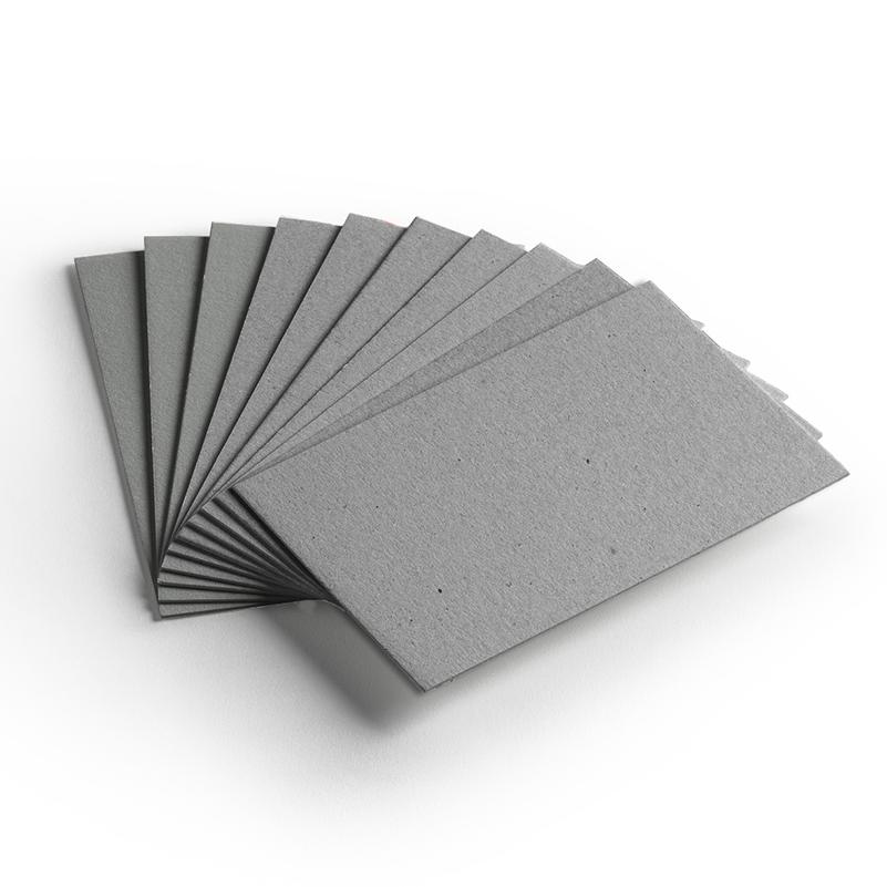 Cartão Cinza- Medida80x50cm - Pacote 10un.