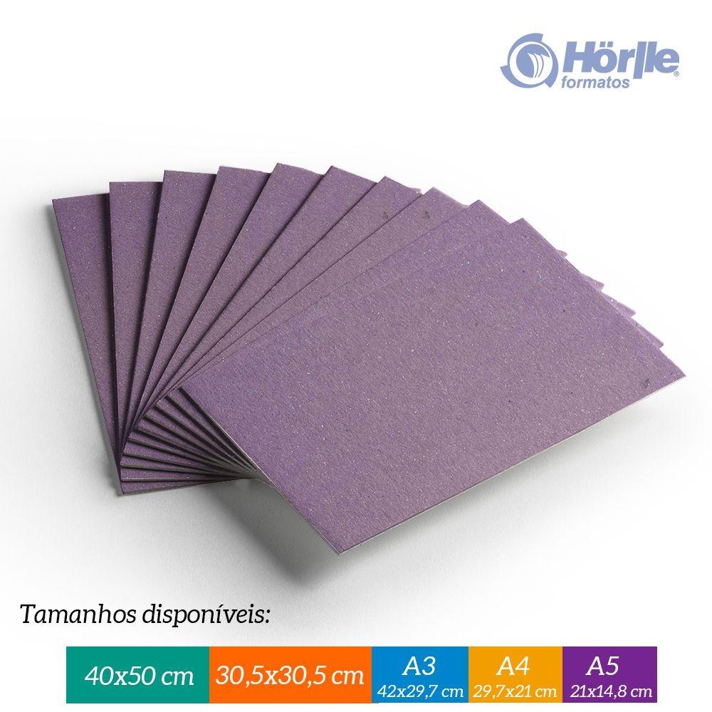 Cartão Color Face - Lilás - Pacote 10un