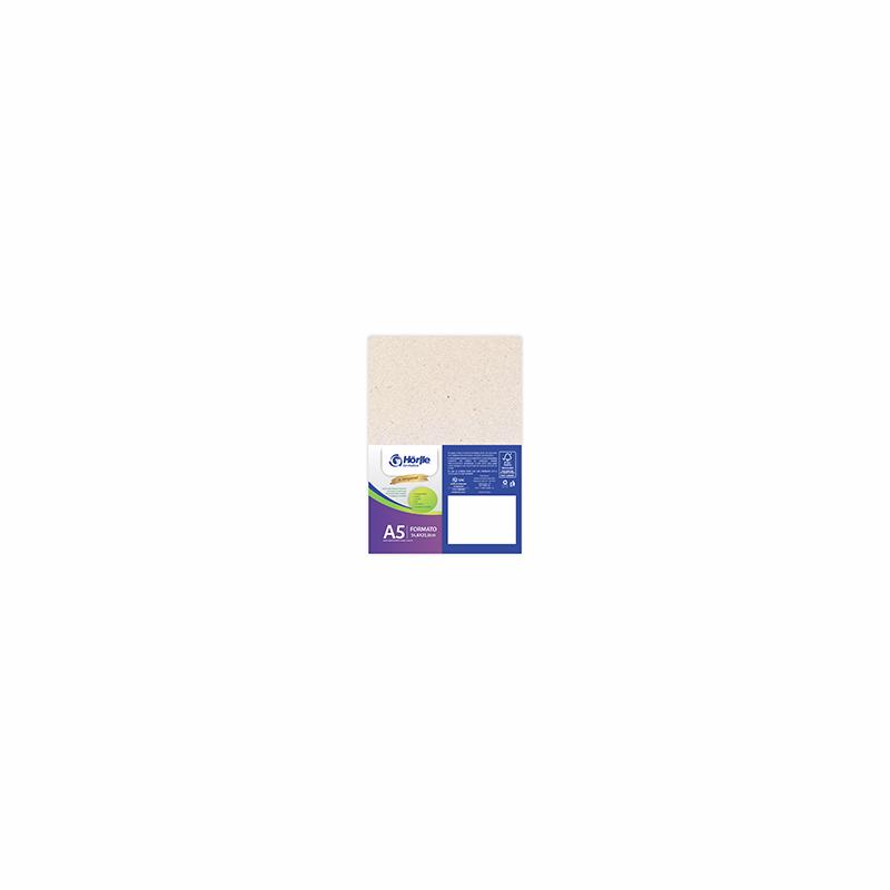 Cartão Natural Premium - Medida A5 - Pacote 10un