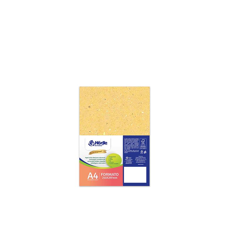 Leve 12 Pague 10 - Cartão Color Face Amarelo- Pacote com 12un