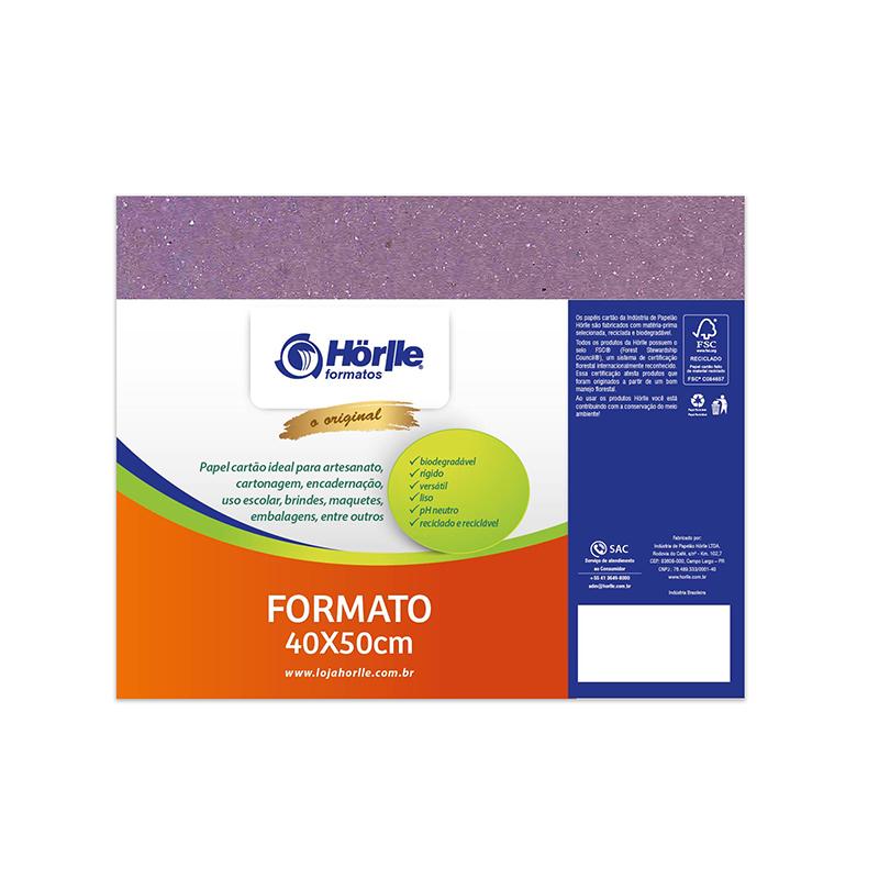 Leve 12 Pague 10 - Cartão Color Face Lilás -  Pacote com 12un