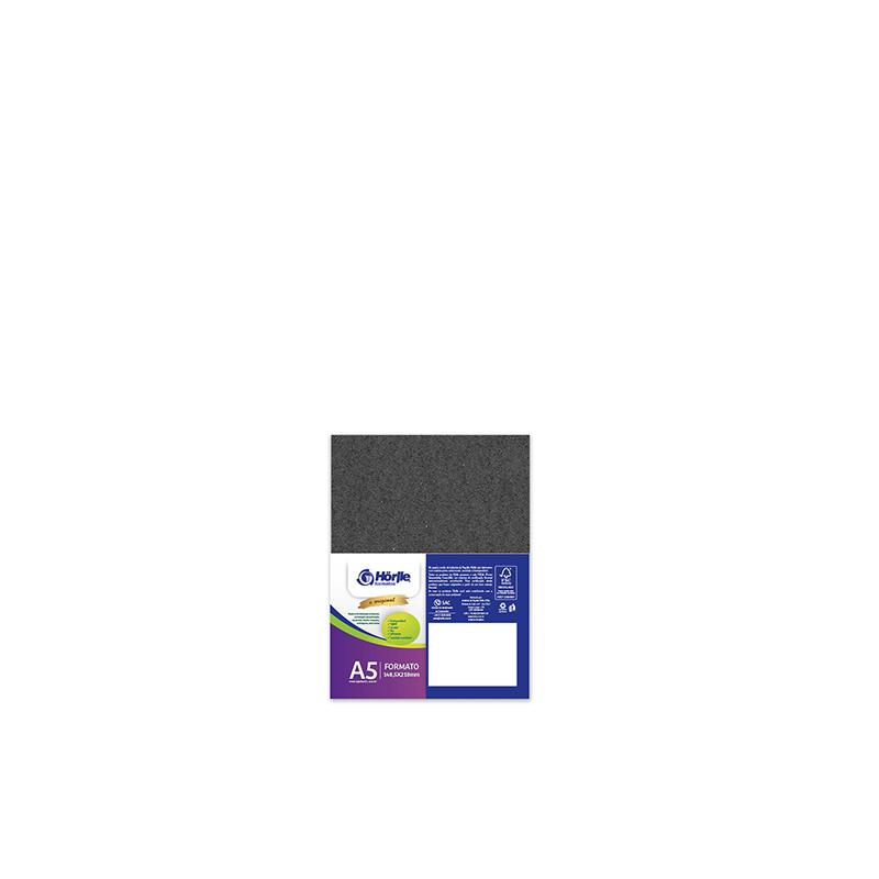 Leve 12 Pague 10 - Cartão Color Face Preto -  Pacote com 12un
