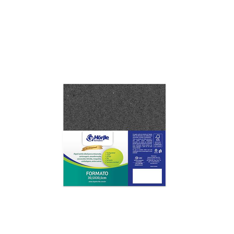 Leve 24 Pague 20 - Cartão Color Face Preto -  Pacote com 24un