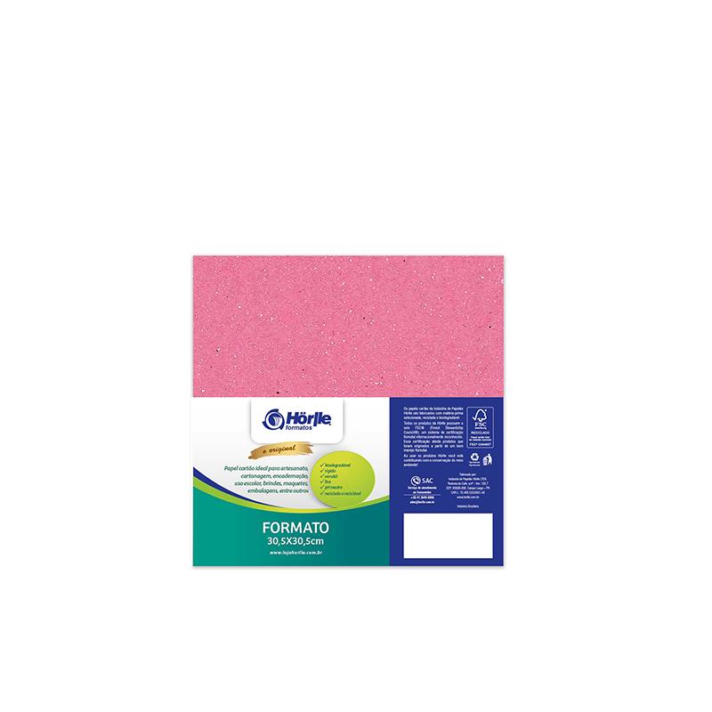 Leve 24 Pague 20 - Cartão Color Face Rosa -  Pacote com 24un