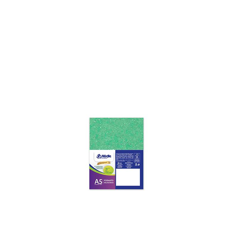 Leve 24 Pague 20 - Cartão Color Face Verde Claro -  Pacote com 24un