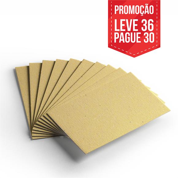 Leve 36 Pague 30 - Cartão Color Face Amarelo- Pacote com 36un