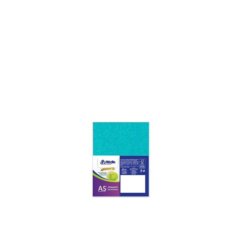 Leve 36 Pague 30 - Cartão Color Face Azul Ciano- Pacote com 36un