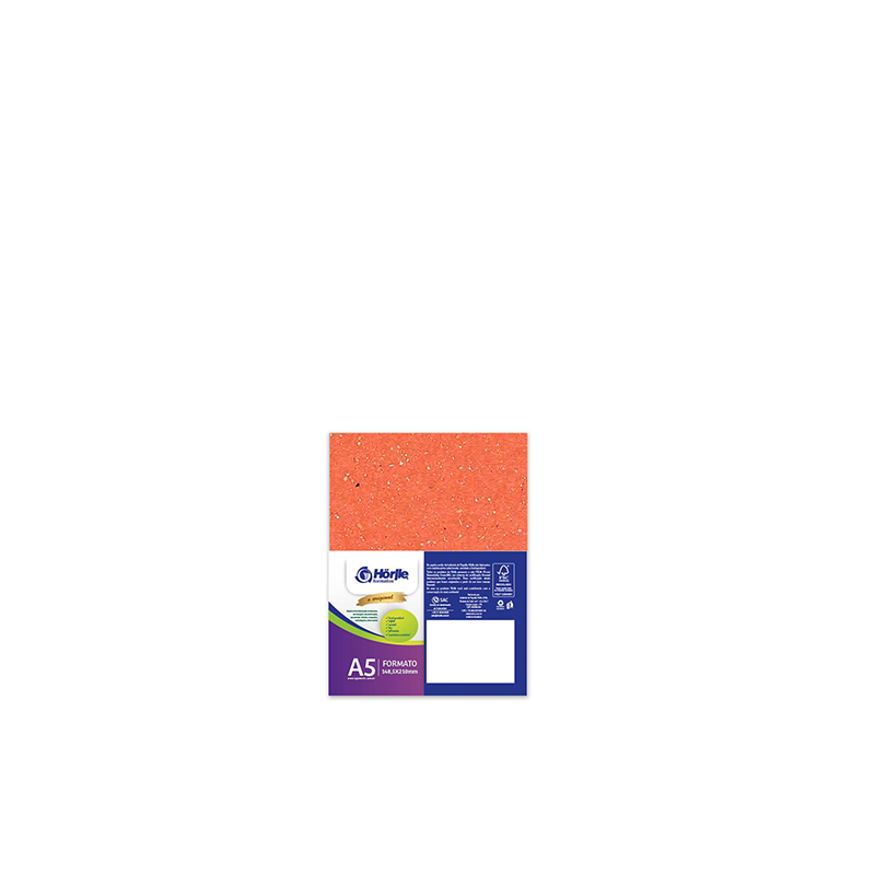 Leve 36 Pague 30 - Cartão Color Face Laranja- Pacote com 36un