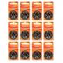 Kit Mydo com 12 Cartelas de Pilhas Auditivas A312 e Acessórios