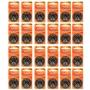 Kit Mydo com 24 Cartelas de Pilhas Auditivas A312 e Acessórios