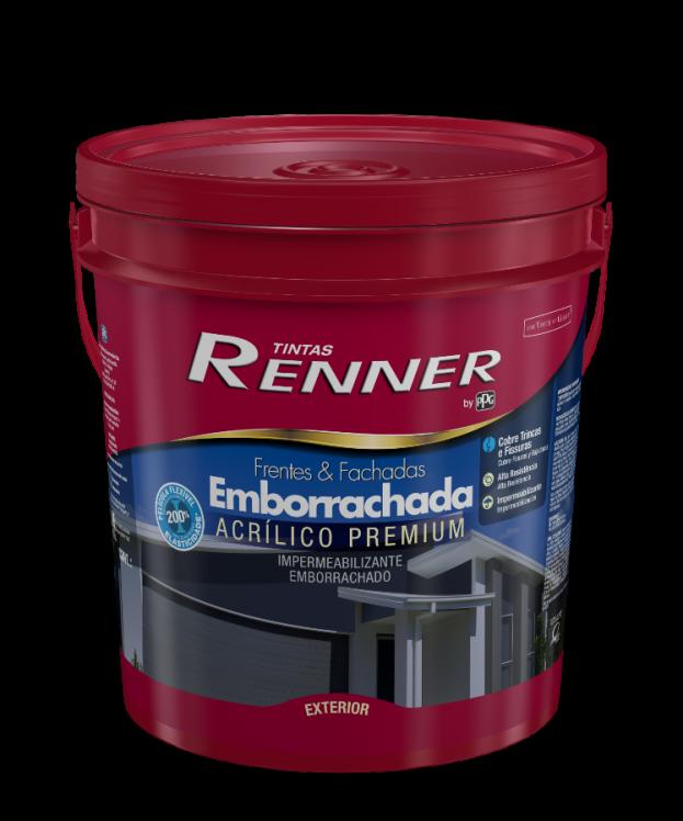 PPG RENNER FRENTES & FACHADAS EMBORRACHADA BRANCO