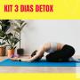Kit 3 Dias Detox + Cardápio digital - 15 Produtos de 300ml | Limpar o Organismo e Nutrir o Corpo