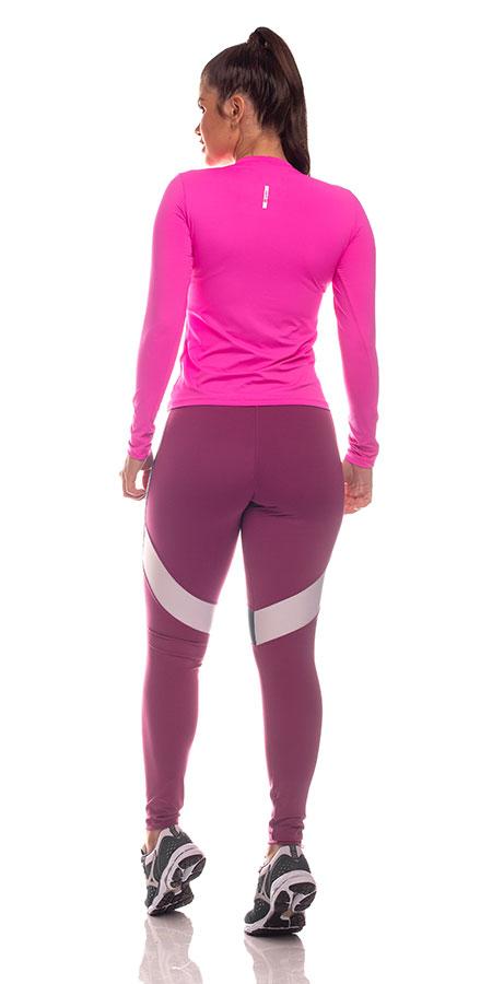 Blusa Luna Ml Proteção UV Feminina