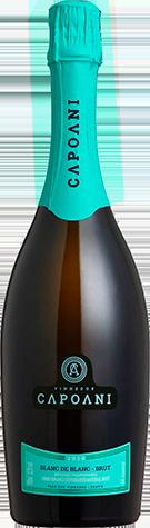 Espumante Capoani Blanc de Blanc Brut 2016 - Método Tradicional