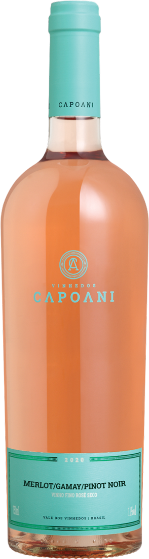 Vinho Rosé Capoani Merlot/Gamay/Pinot  2020