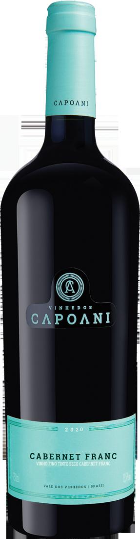 Vinho Tinto Capoani Cabernet Franc 2020