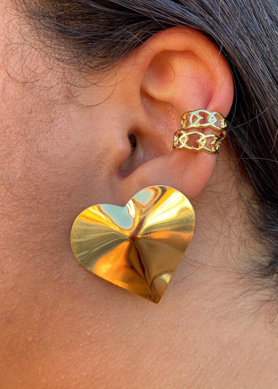 Piercing de Elos Banhado em Ouro 18K