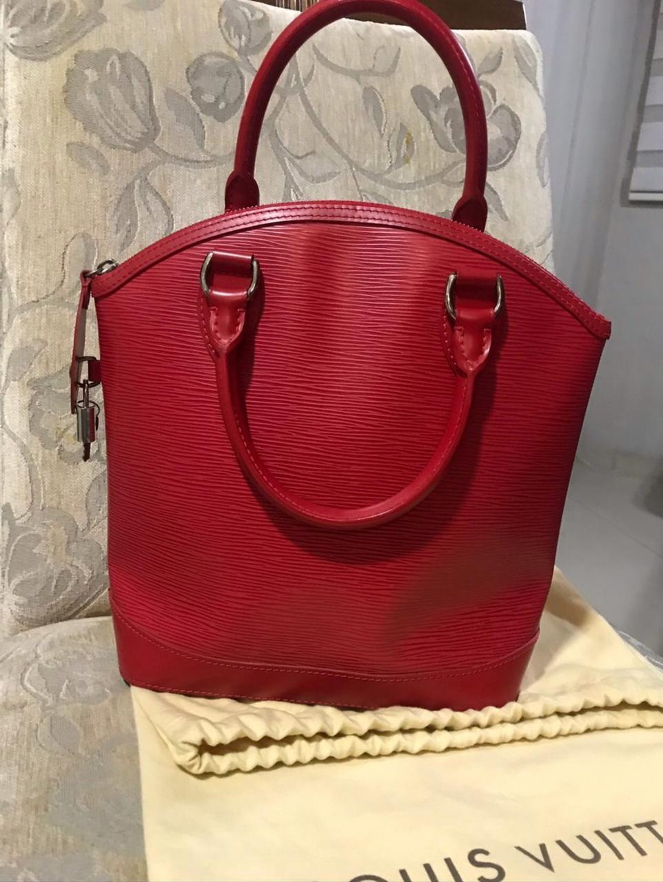 Bolsa Louis Vuitton Lockit EPI Rouge
