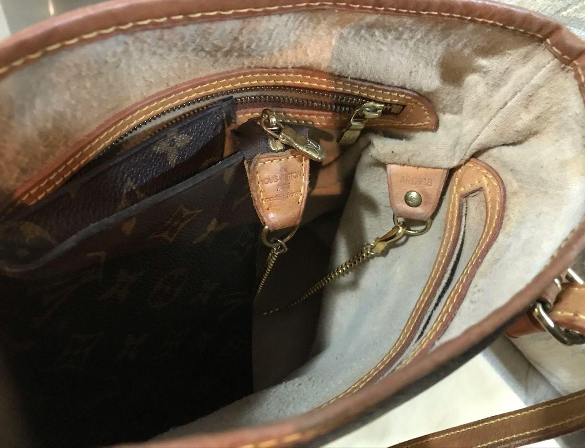 bolsa louis vuitton petit bucket
