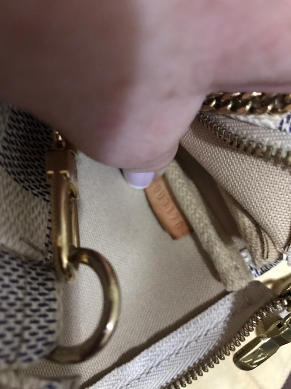 Mini Pochette Louis Vuitton Damier Azur