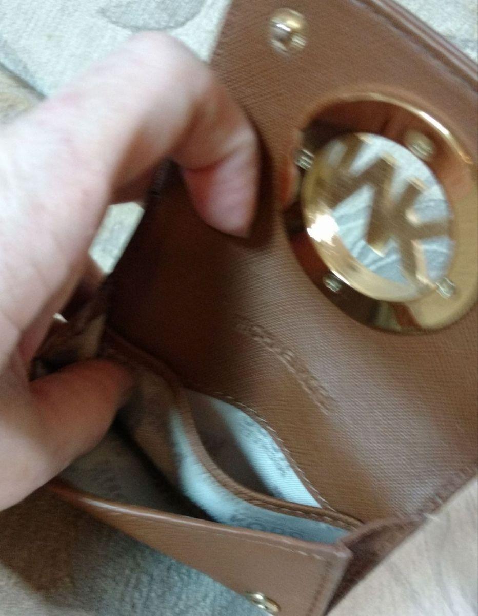 porta cartão e moeda michael kors