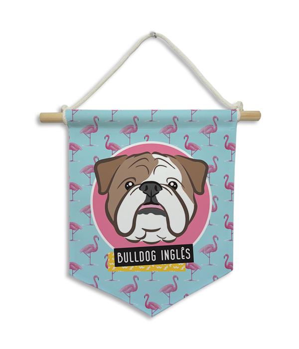 Flâmula | Bulldog Inglês