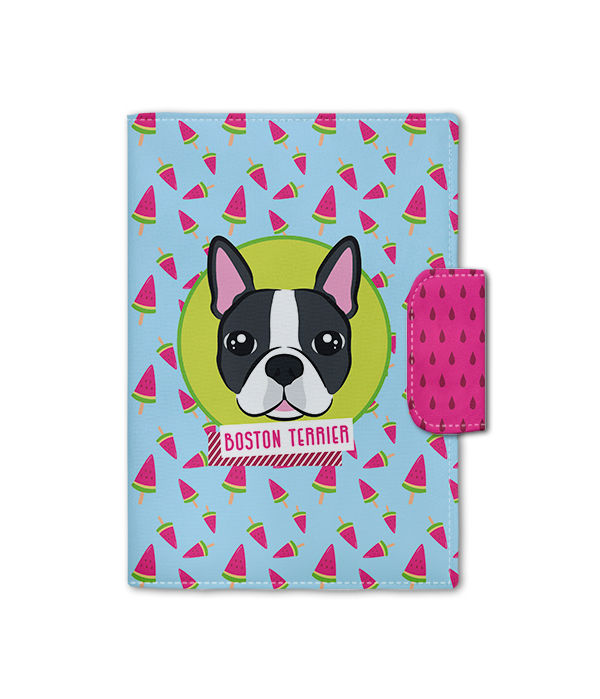 Porta Documento | Boston Terrier