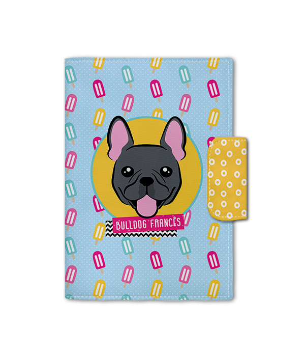 Porta Documento | Bulldog Francês