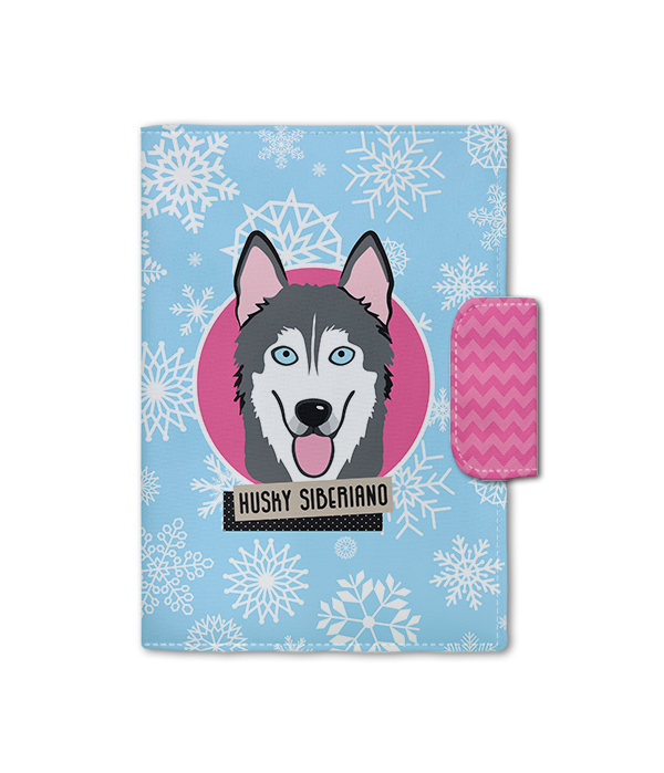 Porta Documento | Husky Siberiano