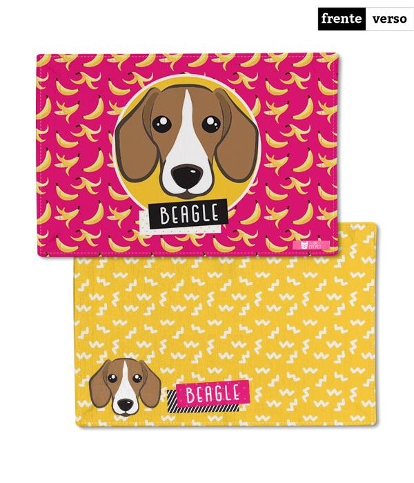 Tapete Dupla Face para Comedouro | Beagle