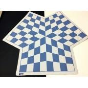 Tabuleiro de Xadrez para 3 jogadores - Soft Mouse Pad