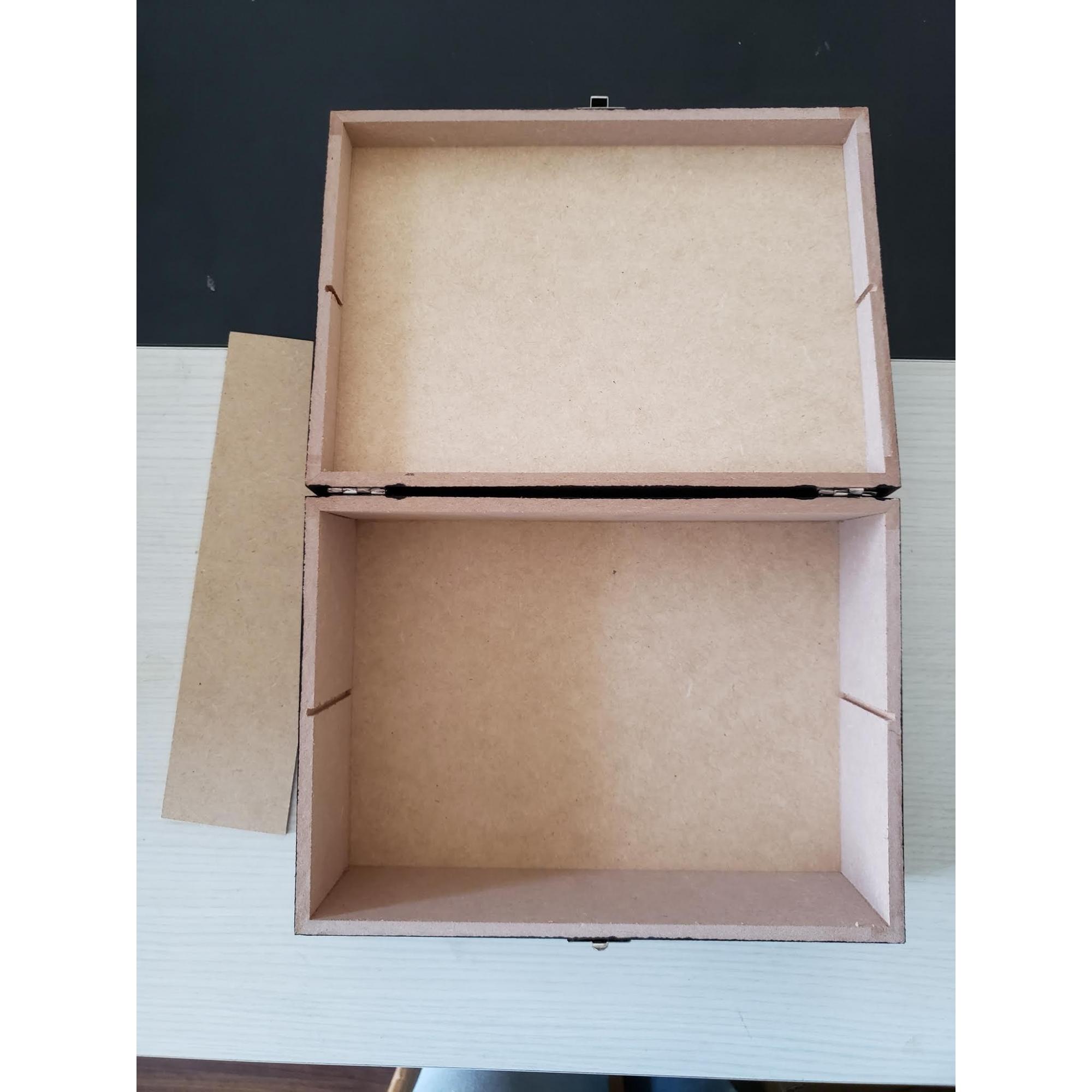 Caixa de madeira