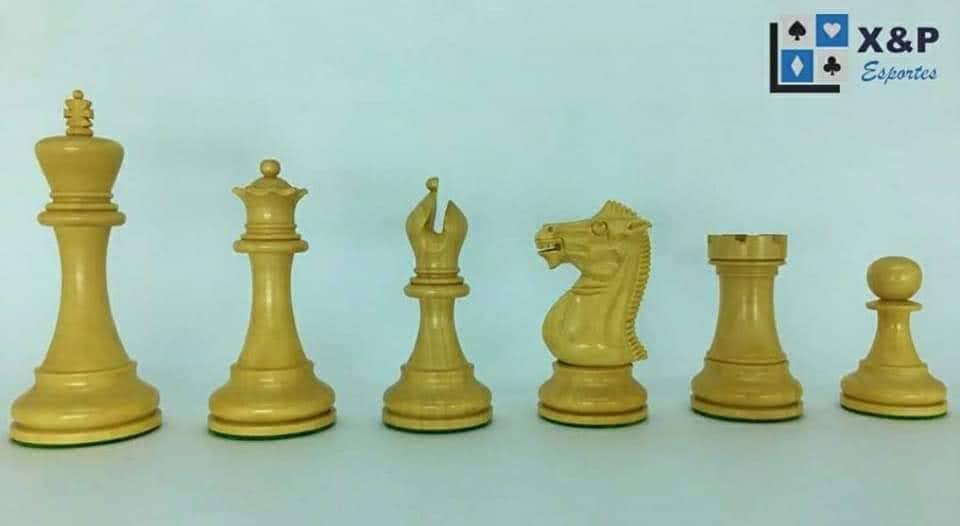 Jogo de Xadrez - Modelo Anderssen Series