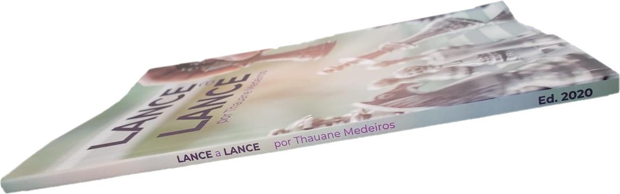 Livro de xadrez - Lance a Lance - Thauane Medeiros