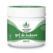 Gel de Babosa Puro - Polpa de Aloe Vera Multifuncional (99,75%) - 500ml