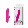 Mini Vibrador Ponto G com Estimulador Clitoriano e 10 Modos de Vibração - PRETTY LOVE ARND