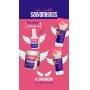 Shampoo Salvamigliss Enriquecido de queratina e Proteínas Hidrolisas - AMIGLISS