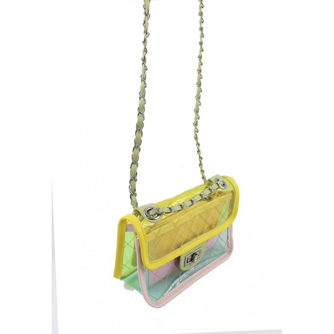 Bolsa Cristal com Matelassê