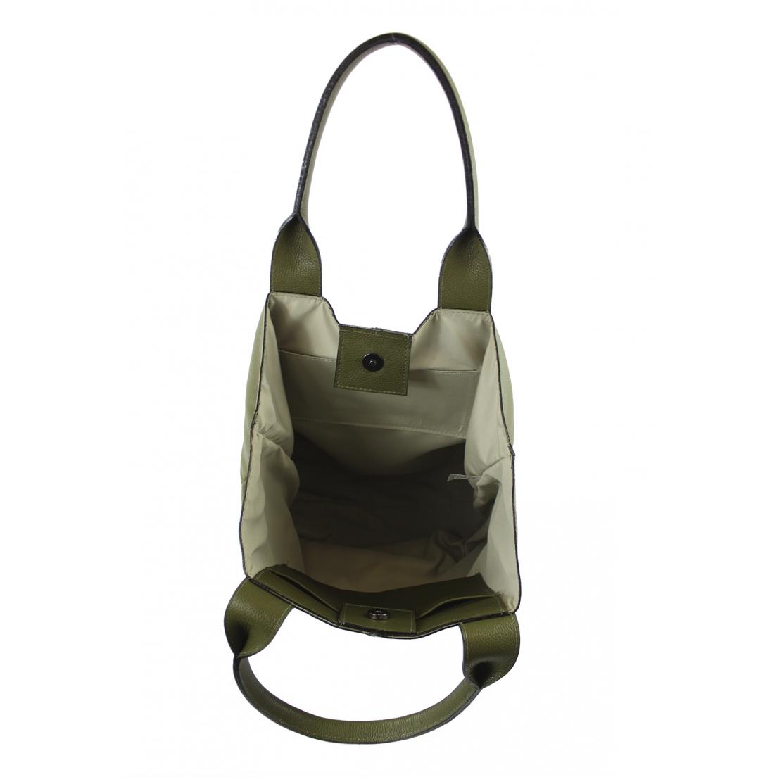 Bolsa sacola Crisfael Couro